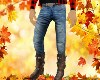 Male Blue Jeans+Boots