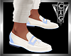 CTG IVORY/BLUE LOAFERS