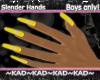 |KAD|SlenderNails~Yello~