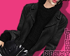 !N Leather Jacket Black2