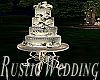 Rustic Wedding Cake/Pose
