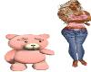 [SUN] Pink Teddybear