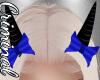 Black Horns /Blue Bows