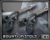 ICO Bounty Pistols Furni