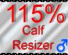 *M* Calf Resizer 115%