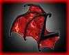 Crimson Bat Wings