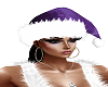 ~Purple Santa Hat only~
