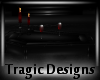 -A- Gothic Coffin Table