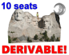 Mt Rushmore (10 seats)