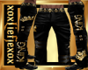 [L] King Gold Pants M