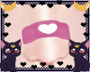 FOX Pink heart bandaid