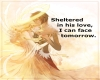 Sheltered in his love