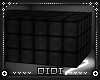!D! Black Platform Box