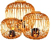 halloween candle cage