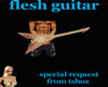 flesh guitar