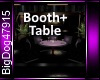 [BD]Booth+Table