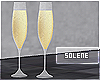 ≡ Champagne Flutes