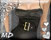 *MD*black top with belt