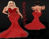 A/L Winter Gown Red