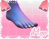 Neon Pedicure