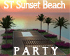 ST SUNSET BEACH PARTY