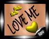 10V:Yellow LOVE ME tatto