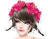 SummerPink Hair Flowers
