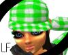 [LF] Green Plaid Hat