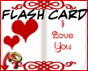 [m] Love Flash Card