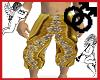 Aladdin Gold Pants