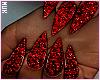 Glitz Nails | Red