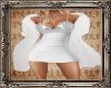 PHV White Cocktail Fur