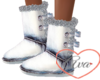 Artic White Boots