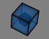 Random Cube Thing - Blue