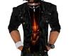 Jaket  black leather