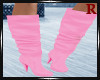 Candy Pink Boots