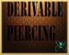 Derivable Belly Piercing