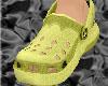 *CROCS Yellow Shoes