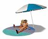 Beach Towel Kiss