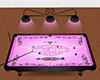 Pink Harley Pool Table