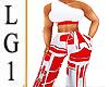 LG1 Red & White Bmxxl