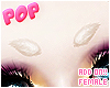 . peroxide furry brows