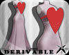 ! Heart Diamond Gown