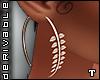 T. Leaves Earrings