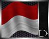 [D33]Indonesian flag fx