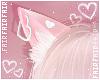 F. Neko Ears Heart Pinku