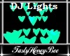 Heart DJ Lights B/G