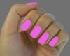 Pink Nails and Smal Hand
