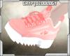 ^Custom Pink Sneakers