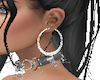 Animated Hoop Earrings